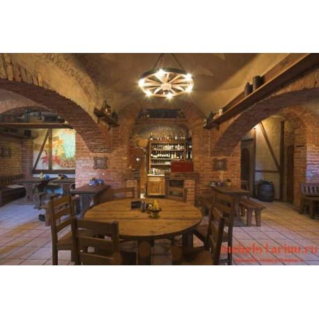 """Мебель для кафе, ресторанов под старину из массива дерева """"Ружа"""""""