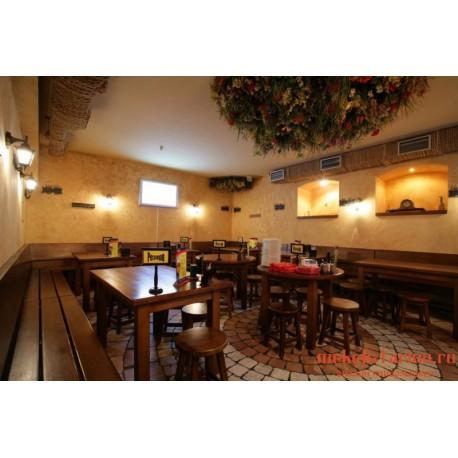 """Мебель для кафе, ресторанов под старину из массива дерева """"Панислава"""""""