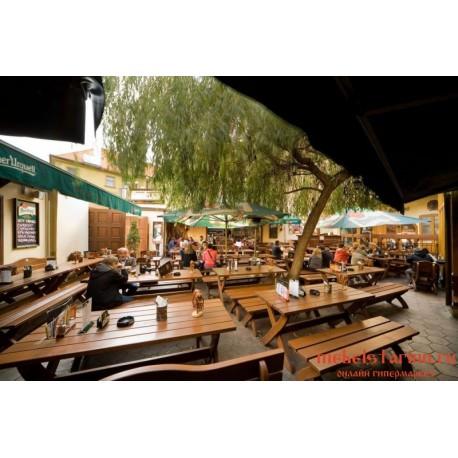 """Мебель для кафе, ресторанов под старину из массива дерева """"Станимира"""""""