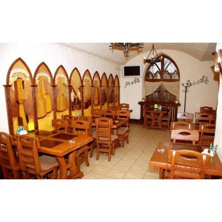 """Мебель для кафе, ресторанов под старину из массива дерева """"Тана"""""""