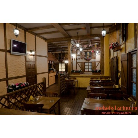 """Мебель для кафе, ресторанов под старину из массива дерева """"Тегомира"""""""