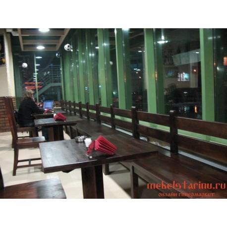 """Мебель для кафе, ресторанов под старину из массива дерева """"Томира"""""""
