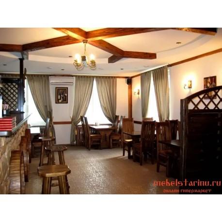 """Мебель для кафе, ресторанов под старину из массива дерева """"Убислава"""""""