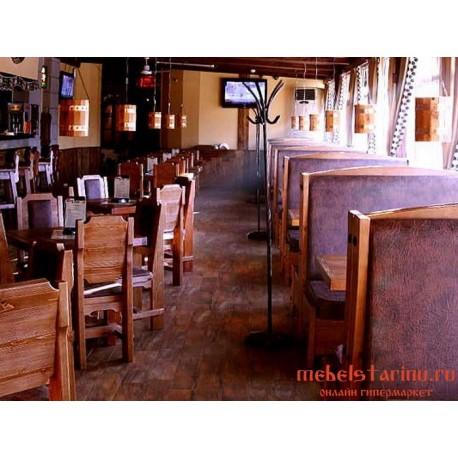 """Мебель для кафе, ресторанов под старину из массива дерева """"Упава"""""""