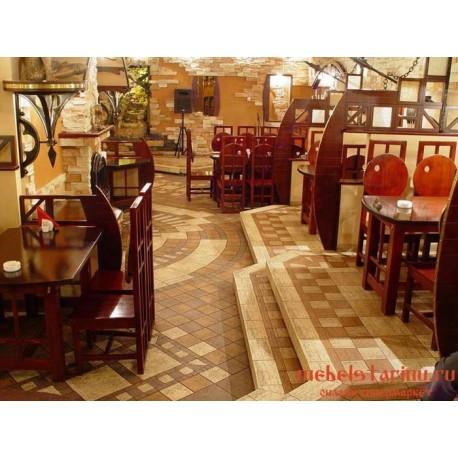 """Мебель для кафе, ресторанов под старину из массива дерева """"Усуда"""""""