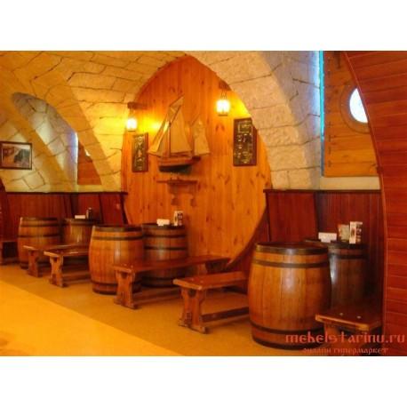 """Мебель для кафе, ресторанов под старину из массива дерева """"Фетинья"""""""